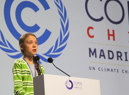 Greta Thunberg: Faltan cinco minutos para la medianoche de la emergencia climática