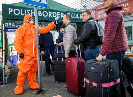 Las bolsas vuelven a caer y las fronteras se cierran ante el avance del coronavirus