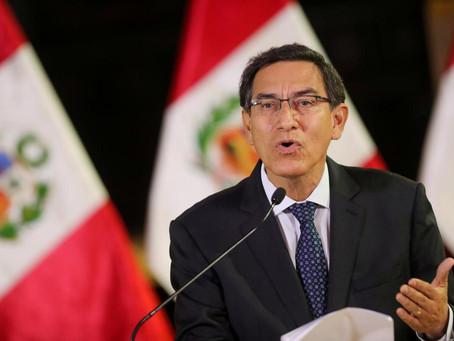 Congreso peruano aprueba nuevo proceso que buscaría destituir a Vizcarra por corrupción