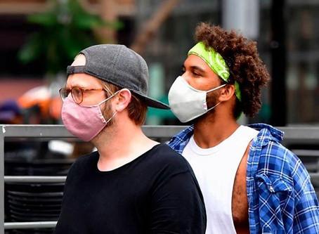 Estudio CDC: el 85% de Pacientes con coronavirus informó que usaban máscaras 'siempre' o a veces