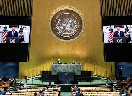 "Donald Trump pide a la ONU ""responsabilizar a China por sus acciones"" respecto a la pandemia"
