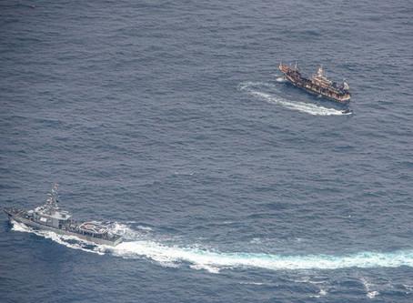 Ambientalistas en Ecuador pidieron más acciones para proteger a Islas Galápagos de buques chinos