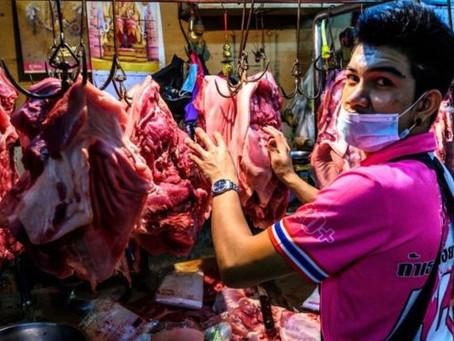 """Coronavirus: qué son los """"mercados mojados"""" y por qué son una preocupación sanitaria para la OMS"""