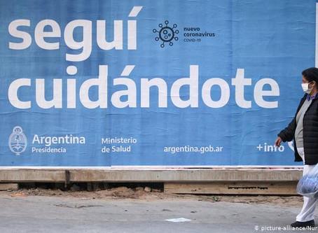 Argentina extiende confinamiento hasta el 11 de octubre