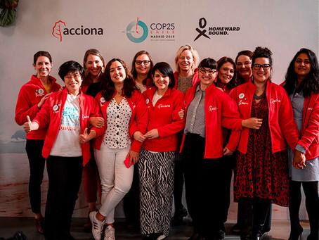 La importancia del liderazgo femenino frente a la emergencia climática en la Cop25