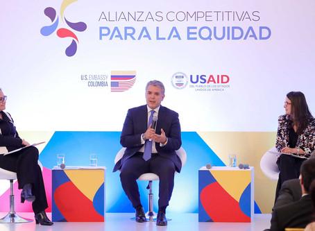 Pdte. Duque lanzó 'Alianzas Competitivas para la Equidad', que buscan atraer inversión en Colombia