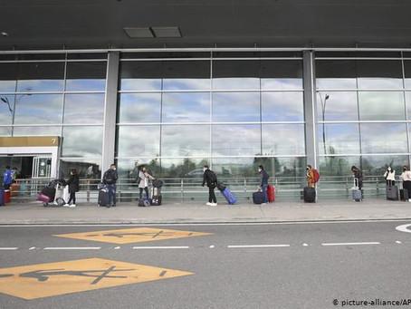 Aviones vuelven a surcar cielos de Colombia tras cinco meses de pandemia