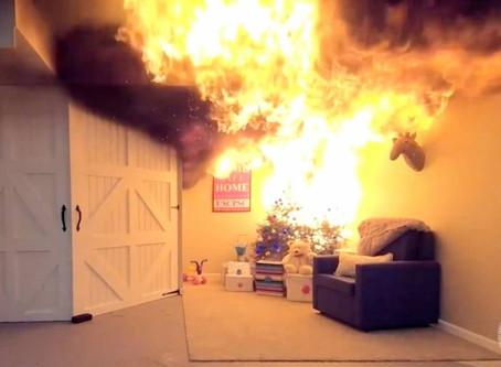No olvides la seguridad contra incendios en esta temporada festiva