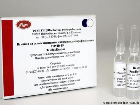Rusia inicia la producción de su segunda vacuna anticoronavirus, EpiVacCorona