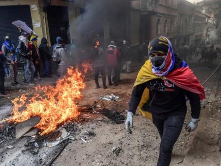 Crisis de Ecuador suma víctimas en medio de expectativa por diálogo