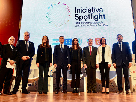 """Macri reafirmó el compromiso para erradicar """"para siempre"""" la violencia contra contra las mujeres"""