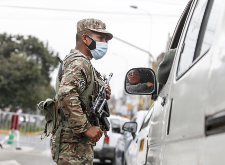 Perú oficializó prórroga del estado de emergencia hasta el 30 de noviembre