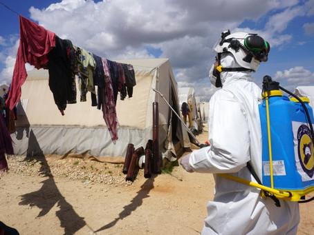 """El coronavirus en Siria: un """"desastre en gestación"""""""