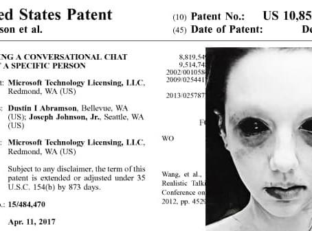 """Microsoft patenta tecnología """"Permitir hablar con sus seres queridos muertos como chatbots de IA """""""