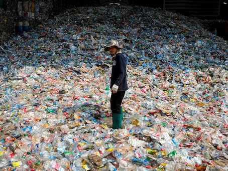 El plástico, de material 'revolucionario' a pesadilla ecológica