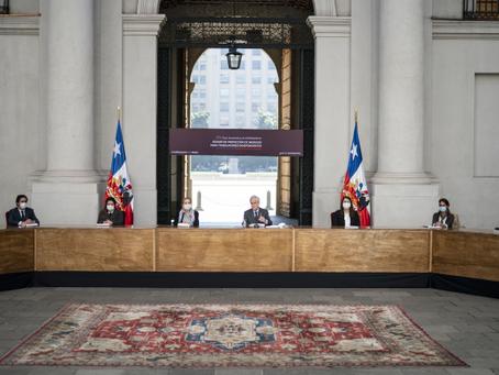 Presidente Piñera firma proyecto de ley para proteger a 1,2 millones de trabajadores independientes