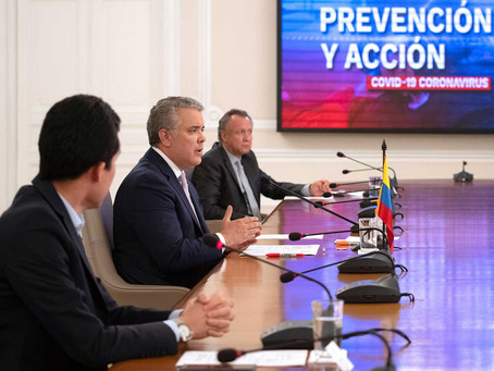 Pdte. Duque de Colombia extiende emergencia sanitaria hasta febrero de 2021