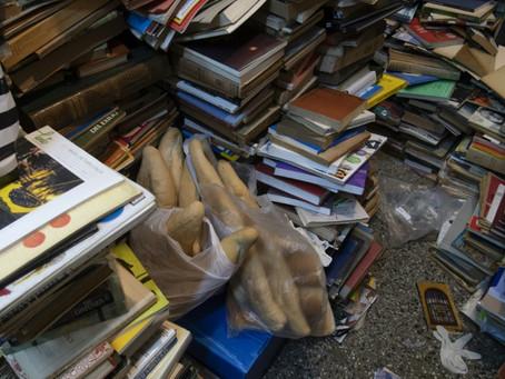 Comida y libros como aliciente, la receta de una librería uruguaya devenida olla popular
