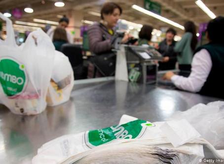 Chile se despide totalmente de las bolsas plásticas desechables en los comercios