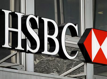 HSBC cae al nivel más bajo en 25 años en bolsa tras filtración sobre movimientos de fondos