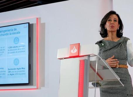 Banco Santander pierde 10.798 millones hasta junio