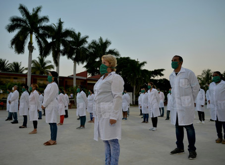 Médicos cubanos van a Andorra, su segundo destino europeo contra la Covid-19
