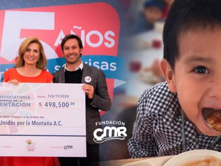 Fundación CMR: 15 años de combatir la desnutrición