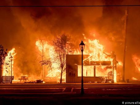 Más de medio millón de personas evacuadas por incendios en Oregon
