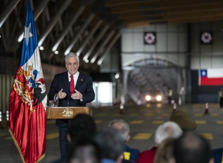 Pdte Piñera inaugura nuevo Complejo Los Libertadores, entre Chile y Argentina