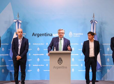 Argentina declaró la cuarentena total por el COVID-19