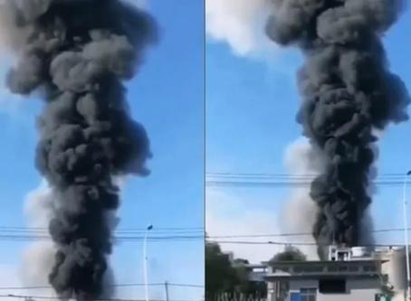 Explota fábrica de productos químicos en China; hay al menos 6 muertos