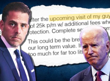 Los correos electrónicos de Hunter Biden muestran cómo aprovechar las conexiones con su padre para a