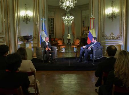 """Pdte Duque""""Colombia y Argentina pueden ser los grandes gestores de la Economía Naranja"""""""