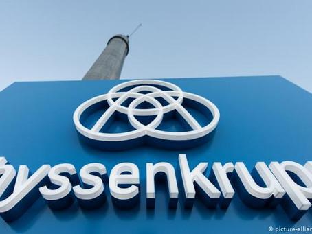 Thyssenkrupp suprimirá otros 5.000 puestos de trabajo