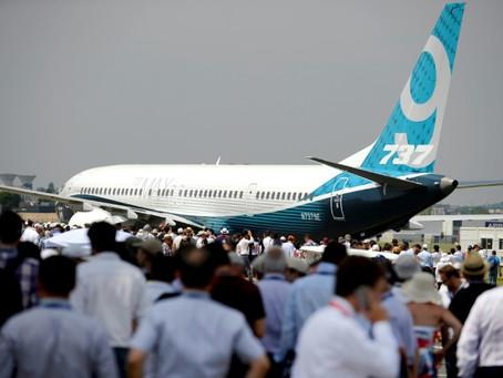 El Salón de la Aeronáutica de Le Bourget, marcado por crisis en Boeing y urgencia climática