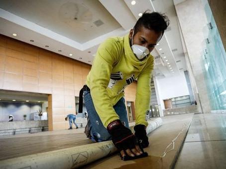 Por ir al trabajo o buscar empleo, 35% de la población no puede quedarse en casa
