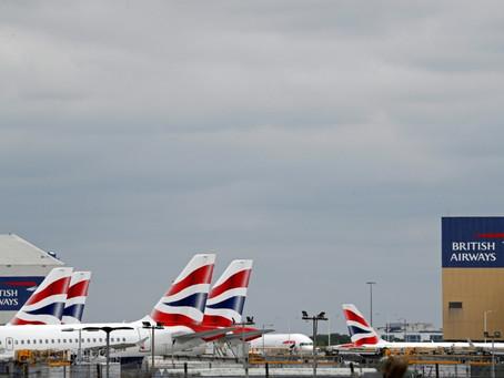 Aerolíneas británicas inician una acción en la justicia contra el gobierno por la cuarentena