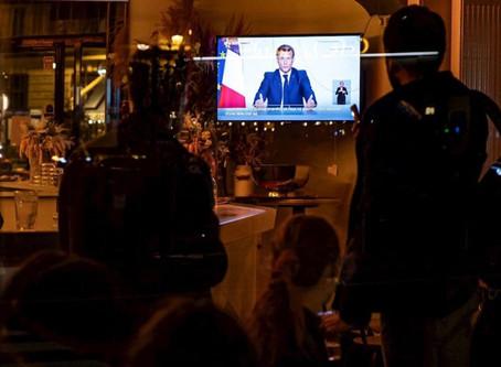 Francia decreta nuevo confinamiento contra Covid-19; Alemania cierra comercios