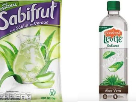 Las bebidas de sábila hechas en México apenas cuentan con 5% de esta planta