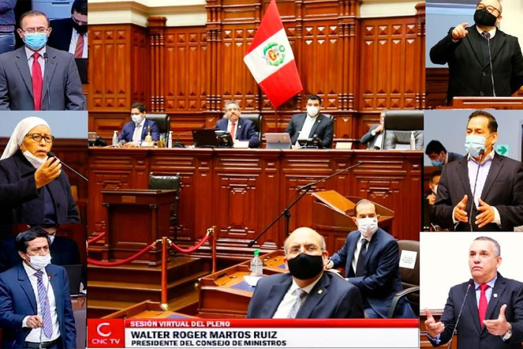 """Perú """"Congreso otorga el voto de confianza al Gabinete de Pdte Vizcarra"""""""