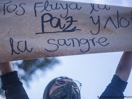 Disturbios durante protestas contra violencia policial en varias ciudades de Colombia