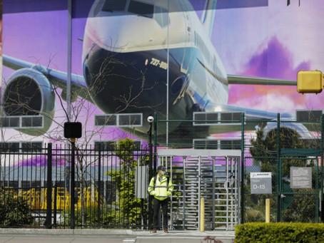 Boeing planea despedir a 10% de sus trabajadores de aviación civil