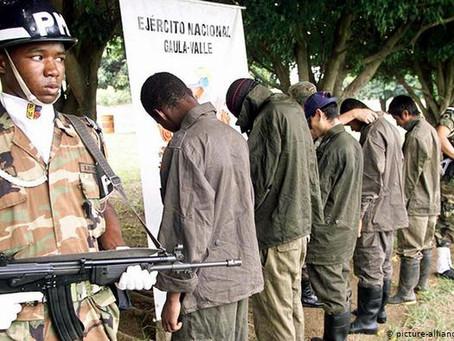 FARC admite reclutamiento forzado de menores en Colombia