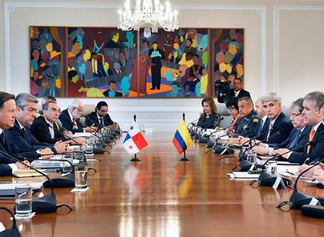 Colombia y Panamá fortalecen cooperación en seguridad, turismo, salud, energía y Economía Naranja