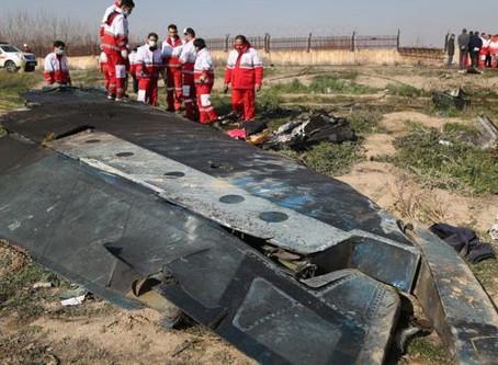 """Accidente del Boeing 737-800: Irán admite que derribó """"por error"""" el avión de Ukraine International"""