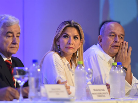Pdta Áñez de Bolivia confirma candidatura para las elecciones generales de mayo