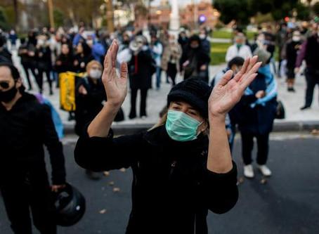 Protestan por primera vez en Argentina contra el confinamiento
