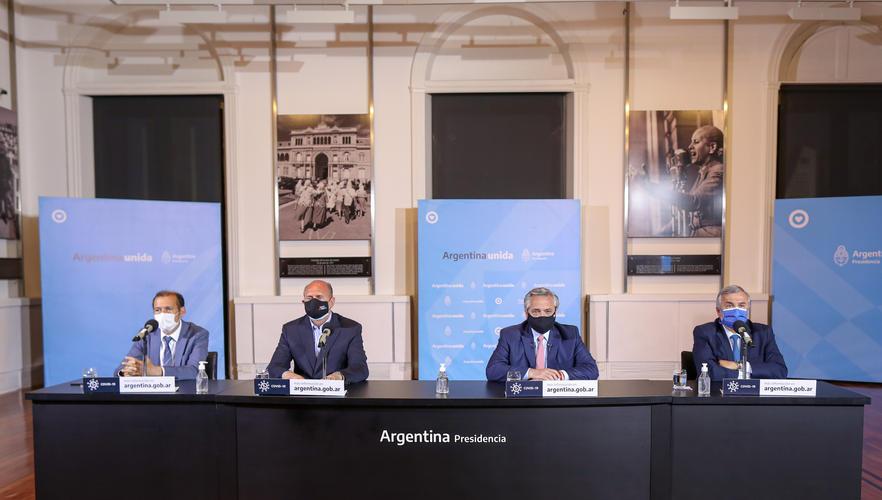 Gobierno argentino endurece restricciones circulación en 18 provincias por COVID-19