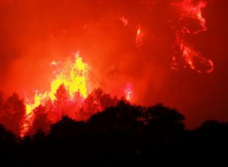 Más de 1.000 evacuados por incendio en sur de Francia