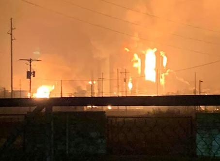 Explosión en planta petroquímica de Texas deja tres heridos